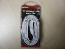 10M TELEPHONE / HOME PHONE EXTENSION LEAD CABLE 10M