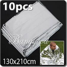 10x Foil Space Thermal Emergency Survival Blanket First Aid Rescue Waterproof
