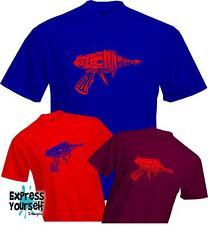 FLASH RAY GUN - Sheldon Cooper - Big Bang Theory - Quality T Shirt - *NEW*