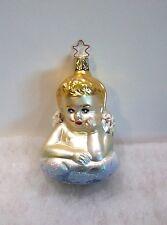 Old World Christmas Inge Glass Ornaments Heavenly Dreams NEW Cherub Angel