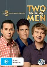 Two And A Half Men : Season 8 (DVD, 2011, 2-Disc Set) Charlie Sheen
