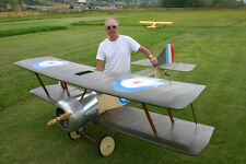 WWI 1/3 Scale  Sopwith PUP  Giant Scale RC AIrplane Rolled Plans