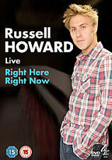 Russell Howard: Right Here Right Now [DVD], Very Good DVD, Russell Howard,