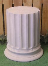 Classical Doric Pedestal Stand Latex Fiberglass Production Mold Concrete Plaster