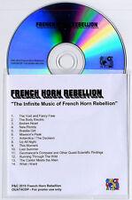 FRENCH HORN REBELLION The Infinite Music Of 2010 UK 14-trk promo test CD