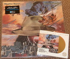 WEATHER REPORT HEAVY WEATHER DOUBLE LP 45 RPM ORG & 24 KARAT GOLD CD AUDIOPHILE