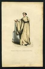 BENEDICTIN DU MONT OLIVET  lithographie 19eme siecle