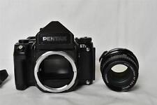 Pentax 67 II Medium Format SLR Camera + smc 67 105mm f2.4 lens kit