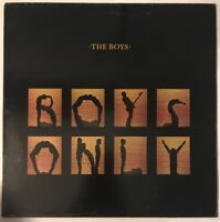 THE BOYS BOYS ONLY LP SAFARI UK 1980 RARE LATER LP FAST DISPATCH