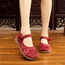 Women Shoes Comfortable Breathable Shoes National Wind Non-slip Embroidery Shoes