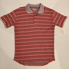 NWT Lularoe American Dreams Americana Bud Polo Shirt Men's Size Small S Striped
