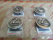 Lexus IS 250 350 Wheel Hub Ornament set of 4 NEW Genuine Parts