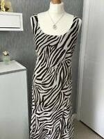 PER UNA size 12L sleeveless fit and flare dress Fully lined