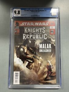 STAR WARS KNIGHTS OF THE OLD REPUBLIC #42 CGC GRADED 9.8 WHITE PAGES 2009