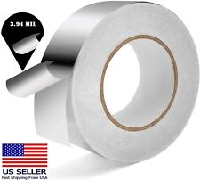 3.94 mil Industrial Grade Aluminum Foil Tape self Adhesive Seal Patch Air Duct