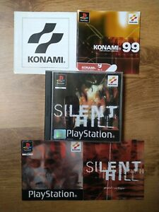 PS1 original Silent Hill jewel case with instruction manual. NO GAME DISC!