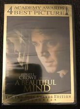 A Beautiful Mind DVD 2-Disc Awards Edition Set Widescreen Brand New/Sealed!