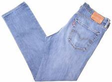 LEVI'S Mens 511 Jeans W36 L34 Blue Cotton Slim  EW08
