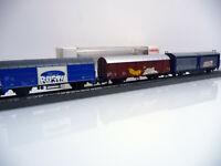 Märklin H0 Bildschöner Graffiti-Zug mit 3 verschiedenen Güterwagen