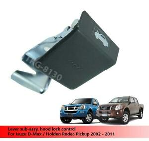 Hood Lock Control Fit For Isuzu D-Max / Holden Rodeo Pickup 2002 - 2011