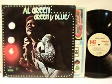 AL GREEN  Green Is Blues  Orig 1972 HI  Stereo  R&B LP  EX!