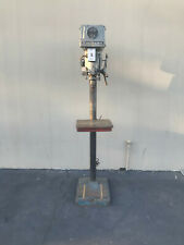 "Clausing 15"" Drill Press, 5-Speed Step Pulley (Woodworking Machinery)"
