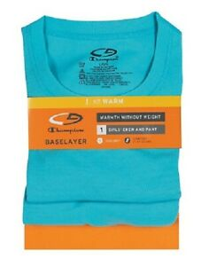 "C9 By Champion® Double Dry® BASELAYER GIRLS' CREW & PANT ""Tagless Warmth "" NEW!"