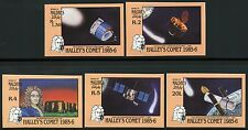 Space Raumfahrt 1986 Maldives Halley`s Comet Komet 1164-1168 U Imperf MNH/1316
