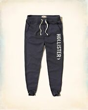 Hollister Men Graphic Fleece Skinny Jogger Sweatpants size Medium new with tags