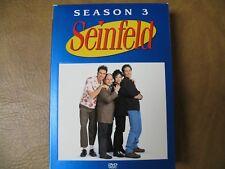 Seinfeld - Season 3 (DVD, 2004, 4-Disc Set)