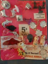 Vintage Gumball Wallaby Do-It-Yourself Capsules Display Card Priced To Sell!