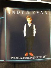 andy & evan boys four pieces set vest  suit Size 2T