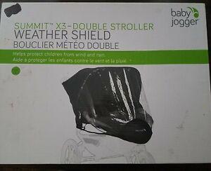 Summit X3 Double Stroller Weather Shield