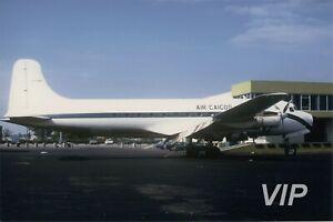 Aircraft Photo 5 x 7 CF-UXA Canadair DC-4M Northstar Air Caicos