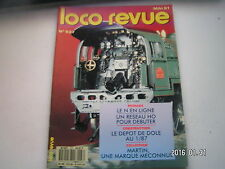 **b Loco revue n°537 Locomotive à vapeur 141 P Fulgurex en O / Aubenas 91
