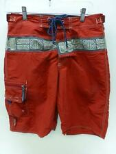 mens sz 30 Abercrombie & Fitch Trunks Board Shorts red boardies surf beach