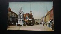 High Street and Town Hall, Maidstone Hartmann 1905 Postcard