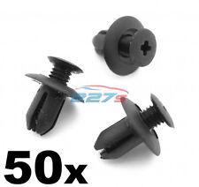 50x 8mm Plastic Trim Clips- Same as Mazda B09251833, Wheel arch & Sill Moulding