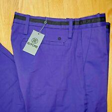 New Mens G/Fore GFore Wisteria Purple Waist Stripe Tech Golf Pants 32x32 Trouser