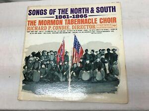 Mormon Tabernacle Choir,- Songs Of The North & South,Civil War Songs, Very Good