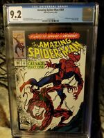 Amazing spiderman 361 cgc 9.2