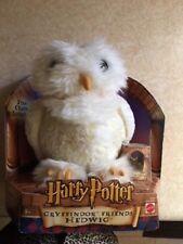 Harry Potter Gryffindor Friends Hedwig the Owl Plush w Charm Mattel 2001