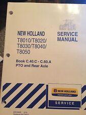 NEW HOLLAND T8010/T8020/T8030/T8040/T8050 SERVICE MANUAL