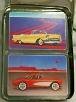57 Heaven Double Deck of 1957 Cars Playing Cards In A Tin