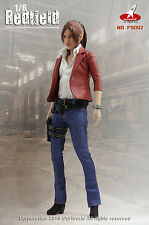 1/6 Resident Evil Claire Redfield Outfit Set USA Toys Hot Revelation Leon Wesker