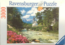 Ravensburger Puzzle 17005 Ramsau gegen Reiteralpe, 3000 Teile, Karton geöffnet