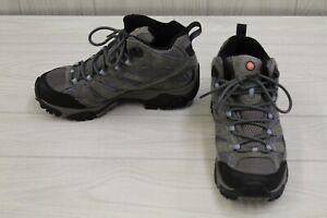 Merrell Moab 2 Mid J06054W Hiking Shoes, Women's Size 9 W, Granite MSRP $134.95