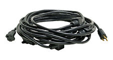 50Ft 14/3 11-Outlet Backline Power Extension Cord for A/V Entertainment Events