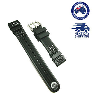 SEIKO Genuine Waffle Rubber Watch Strap band 20mm DE39AZ MM300 Marinemaster SBDX