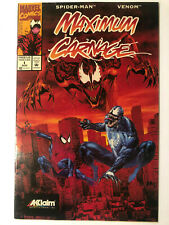 Maximum Carnage #1 1994 VERY RARE SPIDER-MAN VENOM MARVEL, Acclaim Variant.